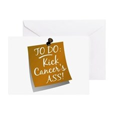 To Do 1 Appendix Cancer Greeting Card