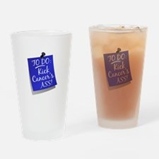 To Do 1 Anal Cancer Drinking Glass