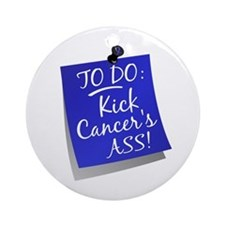 To Do 1 Anal Cancer Ornament (Round)