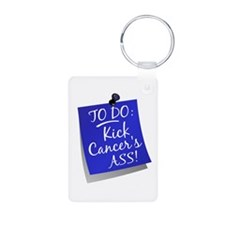 To Do 1 Anal Cancer Keychains