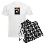 Happy Moon Day Men's Light Pajamas