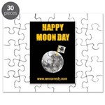 Happy Moon Day Puzzle