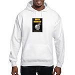 Happy Moon Day Hooded Sweatshirt