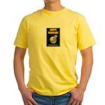 Happy Moon Day Yellow T-Shirt