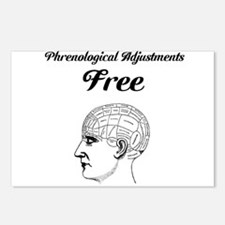 Phrenology Postcards (Package of 8)