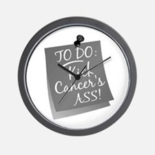 To Do 1 Brain Cancer Wall Clock