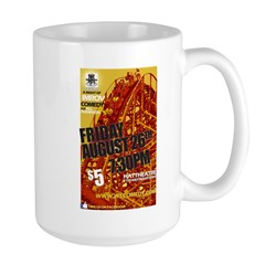 Ups and Downs show - August 2 Large Mug