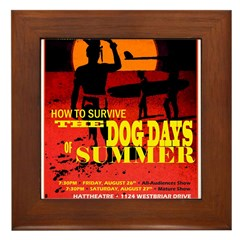 Dog Days of Summer - Aug 2012 Framed Tile