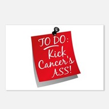 To Do 1 Bone Cancer Postcards (Package of 8)