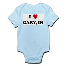 I Love Gary Infant Creeper