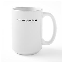 # rm -rf /windows - Mug