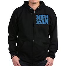 Michigan Zip Hoody