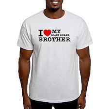 I love My Coast Guard Brother T-Shirt
