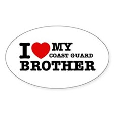 I love My Coast Guard Brother Decal