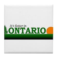 Cool Ottawa Tile Coaster
