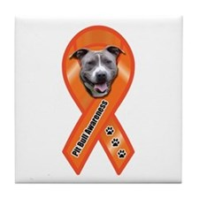 Pit Bull Awareness (Julius) Tile Coaster