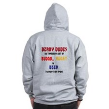 demolition derby , derby dude Zip Hoodie