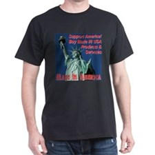 Made In America Statue Of Liberty T-Shirt