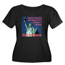 Made In America Statue Of Liberty T