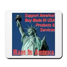 Made In America Statue Of Liberty Mousepad