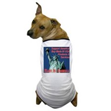 Made In America Statue Of Liberty Dog T-Shirt