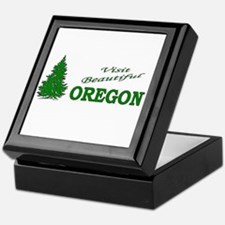 Cool Oregon ducks Keepsake Box