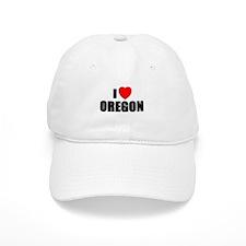 Cute Oregon love Baseball Cap