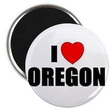 Unique Oregon love Magnet