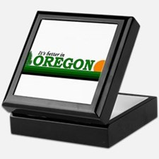 Unique Oregon ducks Keepsake Box