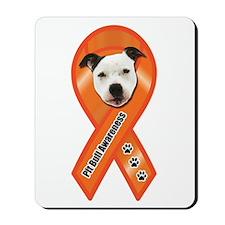 Pit Bull Awareness (Gus) Mousepad