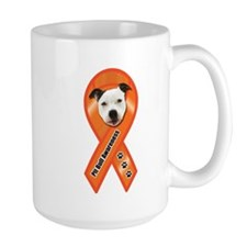 Pit Bull Awareness (Gus) Ceramic Mugs