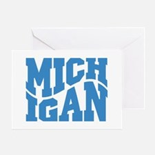 Michigan Greeting Card