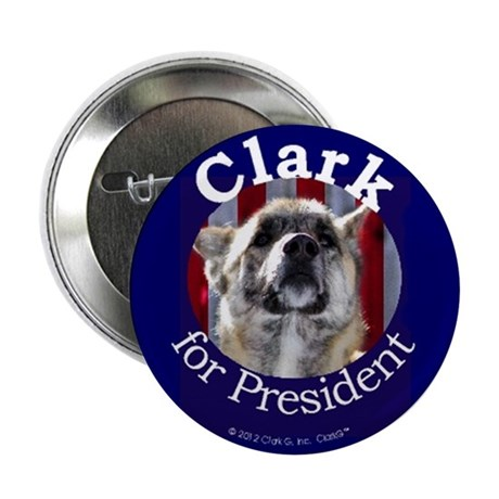 "Clark G for President 2.25"" Button (10 pack)"