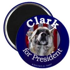 Clark G for President Magnet
