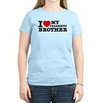 I love My Paramedic Brother Women's Light T-Shirt