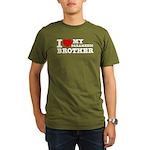 I love My Paramedic Brother Organic Men's T-Shirt
