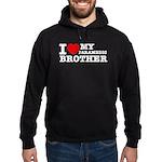 I love My Paramedic Brother Hoodie (dark)