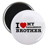 I love My Paramedic Brother Magnet