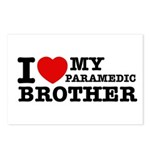 I love My Paramedic Brother Postcards (Package of