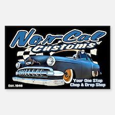 Nor-Cal Customs Sticker (Rectangle)