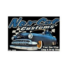 Nor-Cal Customs Rectangle Magnet
