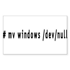 # mv windows /dev/null - Decal