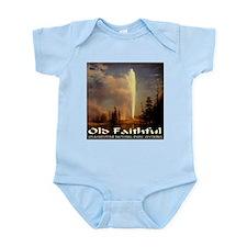 Old Faithful Infant Bodysuit