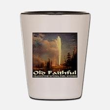 Old Faithful Shot Glass
