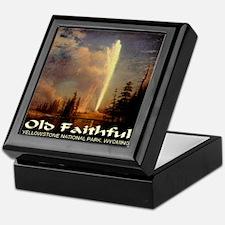 Old Faithful Keepsake Box