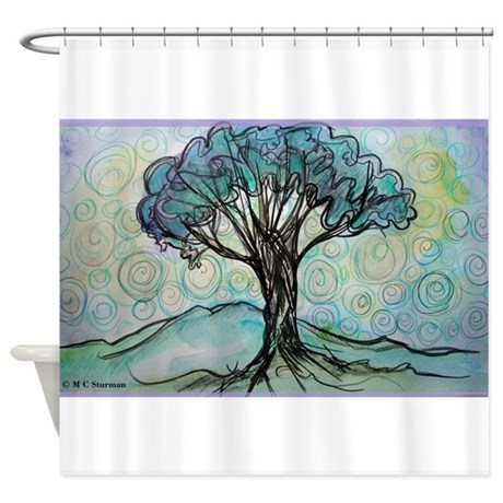 Tree! Tree of Life, Art! Shower Curtain