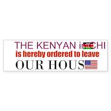 Kenyan in Chief Bumper Sticker