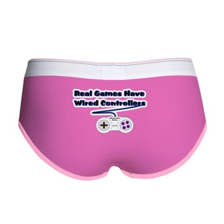 Real Games Have Wired Control Women's Boy Brief