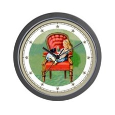 Alice and Dinah Wall Clock