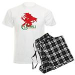 Cymru Draig Men's Light Pajamas